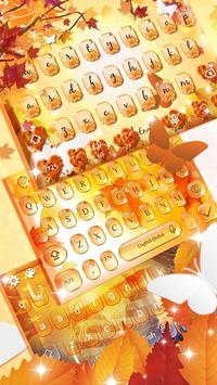 Autumn keyboard theme screenshot 2
