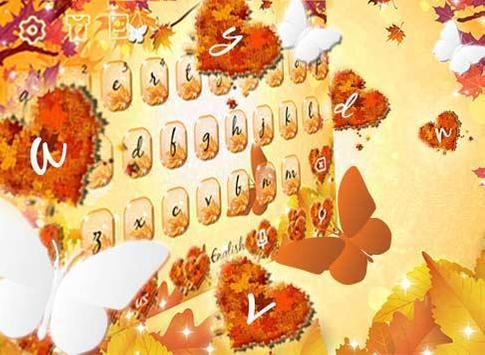 Autumn keyboard theme screenshot 5