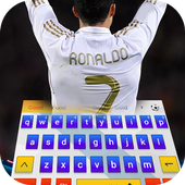 Football keyboard Cool Madrid icon