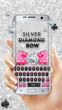 Silver Diamond Bow Keyboard screenshot 1