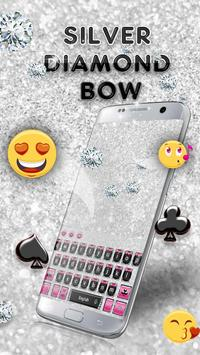 Silver Diamond Bow Keyboard screenshot 2