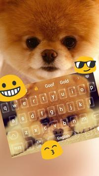 Cute Akita Dog Animal Keyboard poster