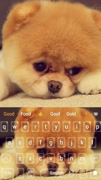 Cute Akita Dog Animal Keyboard apk screenshot