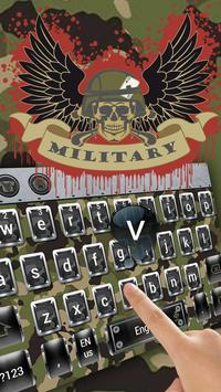 Military camouflage skull keyboard screenshot 2