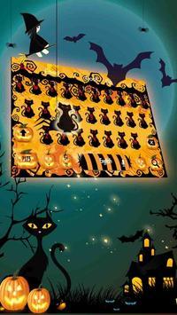 Halloween night pumpkin Keyboard screenshot 1