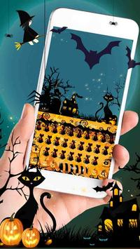 Halloween night pumpkin Keyboard screenshot 2