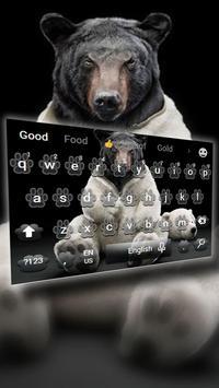 Bear the keyboard theme screenshot 1