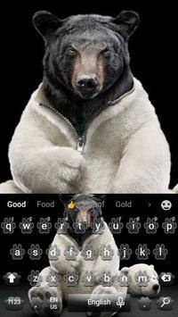 Bear the keyboard theme screenshot 2
