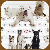 Love kitty dog keyboard theme icon