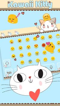 Cute Kitty Keyboard screenshot 2