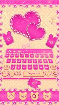 Pink Mouse Keyboard Theme poster
