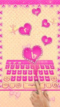 Pink Mouse Keyboard Theme screenshot 1