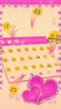 Pink Mouse Keyboard Theme screenshot 2