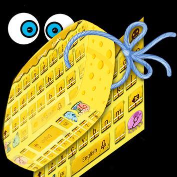Sponge keyboard theme poster