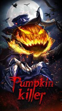 Halloween Pumpkin Keyboard Theme poster