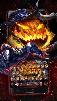 Halloween Pumpkin Keyboard Theme screenshot 2