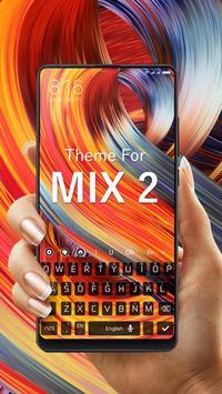 Keyboard Theme for MI Mix 2 screenshot 3