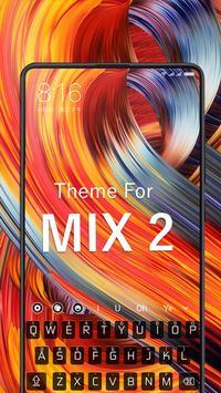 Keyboard Theme for MI Mix 2 screenshot 1