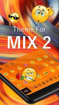 Keyboard Theme for MI Mix 2 screenshot 2