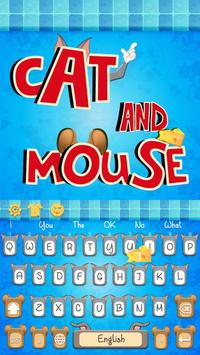 Cat and Mouse keyboard theme screenshot 3