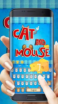 Cat and Mouse keyboard theme screenshot 1