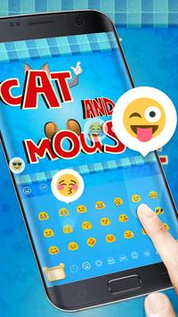 Cat and Mouse keyboard theme screenshot 2