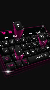 Black Keyboard Theme apk screenshot