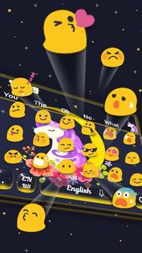 Cuteness Unicorn Keyboard Theme apk screenshot