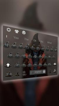 Witch Death keyboard apk screenshot