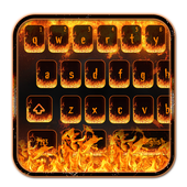 Hell Fire Flames Keyboard Theme icon