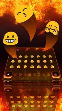 Hell Fire Flames Keyboard Theme apk screenshot