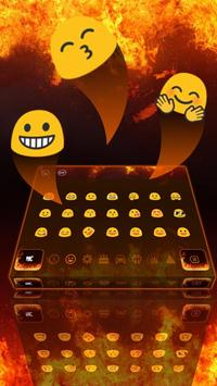 Hell Fire Flames Keyboard Theme screenshot 2