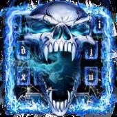 Smoke Skull Keyboard Theme icon