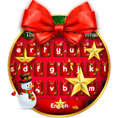 Christmas Bow Keyboard Theme icon