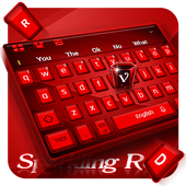 Red Keyboard Theme icon