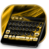 Gold and Black Luxury Keyboard icon