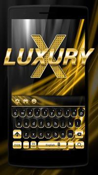 Gold and Black Luxury Keyboard screenshot 1