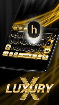 Gold and Black Luxury Keyboard screenshot 2