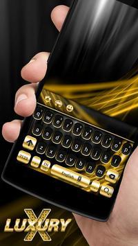Gold and Black Luxury Keyboard screenshot 7