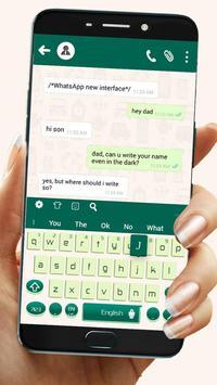 Teclado para Whatsapp - Diseñado para Whatsapp Poster