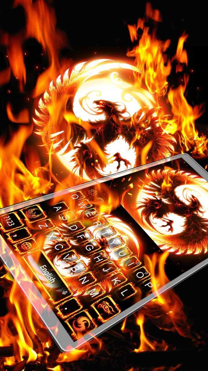Fire Phoenix Keyboard Theme for Android - APK Download