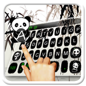 Lovely Panda Keyboard Theme icon