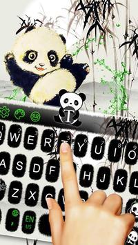 Lovely Panda Keyboard Theme screenshot 4