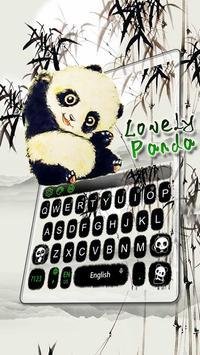 Lovely Panda Keyboard Theme screenshot 5