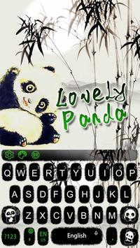 Lovely Panda Keyboard Theme screenshot 6
