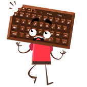 Sweet Chocolate Candy Keyboard icon