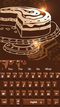 Sweet Chocolate Candy Keyboard poster