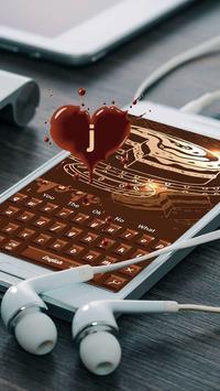 Sweet Chocolate Candy Keyboard screenshot 2
