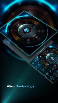 Alien technology keyboard dark blue glare keyboard screenshot 3