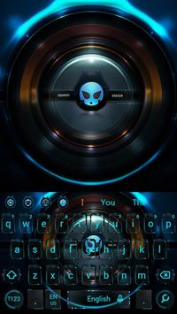 Alien technology keyboard dark blue glare keyboard screenshot 2